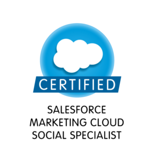Salesforce Marketing Cloud Social Specialist
